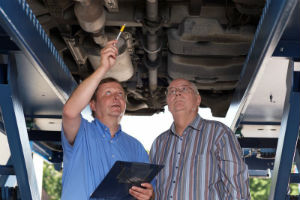 Alastair Reid Garages Exhaust Inspection and Repairs