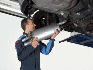 Alastair Reid Garages Exhaust Replacement